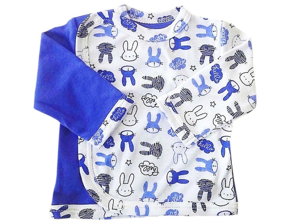 Kabátek zajíc modrý
